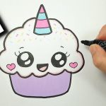 How to Draw Emojis Step by Step Amazing How to Draw A Cute Cupcake Unicorn Super Easy and Kawaii