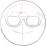 How to Draw Emojis Step by Step Best Collection Of Sunglasses Clipart