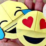 How to Draw Emojis Step by Step Excellent Easy Emoji Diy Bookmark Corners Paper Crafts