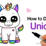 How to Draw Emojis Step by Step Inspirational Unicorn Simple Drawing at Paintingvalley