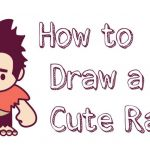 How to Draw Emojis Step by Step Inspired How to Draw Cute Kawaii Chibi Ralph From Wreck It Ralph Easy Steps
