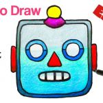 How to Draw Emojis Step by Step Inspiring How to Draw A Robot Emoji Easy with Coloring