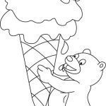 Ice Cream Coloring Book Excellent Easy Coloring Book Pages Cute Easy Coloring Pages Ice Cream Coloring
