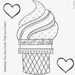 Ice Cream Coloring Book Inspired Ice Cream Coloring Pages for Kids A Stitch In Time