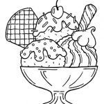 Ice Cream Coloring Book Inspiring Pin by Bugg Cerise On Ez Easy Coloring Pagez
