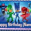 Images Of Pj Masks Beautiful Pj Masks Cake topper Edible Birthday Party Decoration