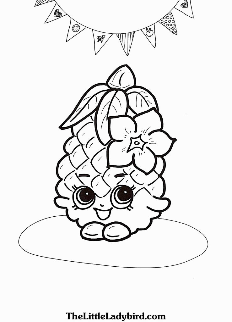 Images Of Shopkins Beautiful Shopkins Coloring Pages to Print Inspirational Free Shopkins