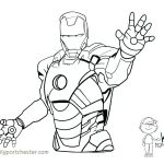 Iron Man Coloring Book Elegant Iron Man Coloring Pages Lovely Awesome Superhero Coloring Pages