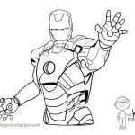 Iron Man Pictures to Print Creative Iron Man Coloring Pages Lovely Awesome Superhero Coloring Pages