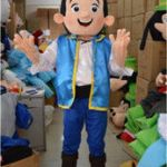 Jake and the Neverland Pirates Halloween Inspiring Jake Pirates Mascot Australia
