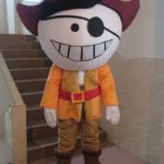 Jake and the Neverland Pirates Halloween Pretty Jake Pirates Mascot Australia