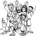 Jesus and Children Coloring Pages Amazing Coloring Pages Character Coloring Preschool to Fancy Print