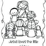 Jesus and Children Coloring Pages Best Coloring Pages Jesus Loves Me – Parkereneindhovenairportfo