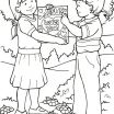 Jesus and Children Coloring Pages Creative Good News Coloring Page