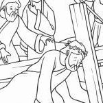 Jesus and Children Coloring Pages Excellent Jesus and Disciples Coloring Page Beautiful Cartoon Od Jesus