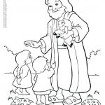Jesus and Children Coloring Pages Pretty Free Coloring Pages Of Jesus – Henrystuart