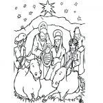 Jesus Birth Coloring Page Awesome 65 Good Shepherd Coloring Pages Free Blue History