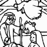 Jesus Birth Coloring Page Awesome Free Coloring Pages Baby Jesus In A Manger Awesome Jesus Birth