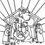 Jesus Birth Coloring Page Best Of Free Coloring Pages Baby Jesus In A Manger Awesome Jesus Birth