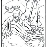 Jesus Coloring Pages for Kids Exclusive Jesus Calms the Storm Coloring Page Awesome Jesus Coloring Sheet