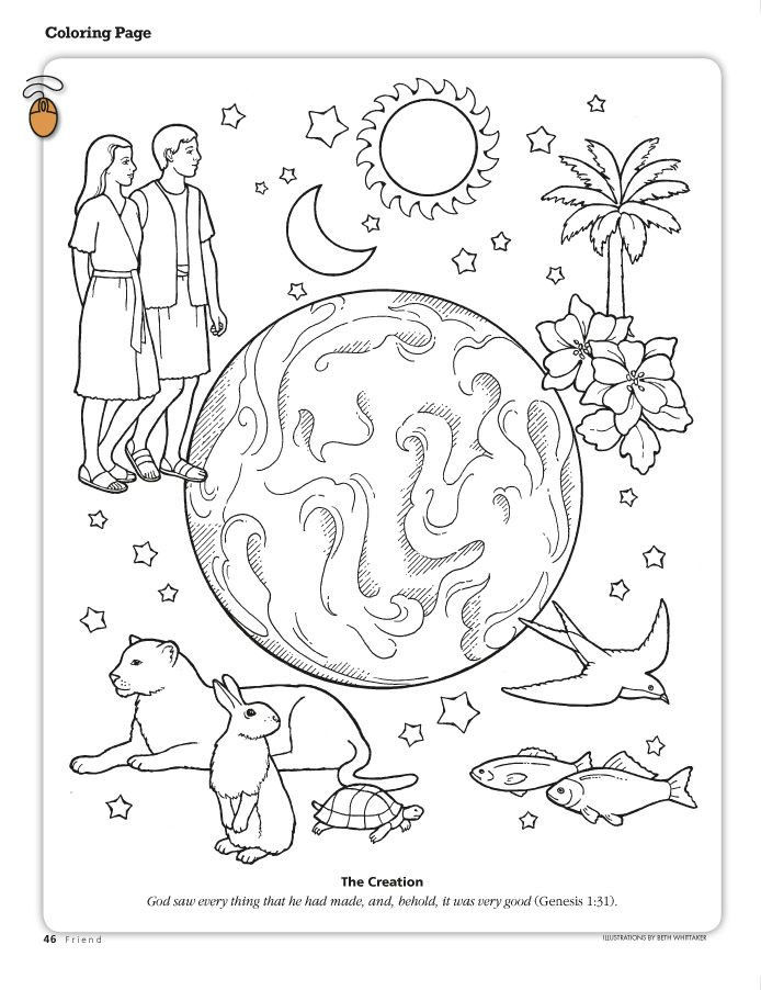Jesus Coloring Pages for Kids Printable Creative Printable Coloring Pages From the Friend A Link to the Lds Friend