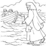 Jesus Coloring Sheet Fresh Miracles Jesus Coloring Pages Inspirational to Coloring Page