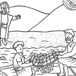 Jesus Colouring Sheets Best Free Fish Coloring Pages