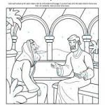 Jesus Colouring Sheets Pretty Bible Coloring Pages for Kids