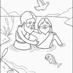 Jesus Colouring Sheets Wonderful Free Printable Coloring Pages John the Baptist New Cool Free