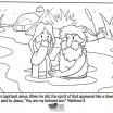 Jesus Loves Children Coloring Pages Awesome Jesus is Baptized Bible Coloring Pages Coloring Pages