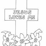 Jesus Loves Me Color Page Awesome Jesus Loves Me Religion