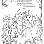 Jesus Loves Me Color Page Exclusive 782 Best Ccd Coloring Sheets Images In 2018
