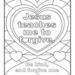 Jesus Loves Me Color Page Inspiration Jesus Teaches Me to forgive Printable Coloring Page