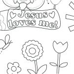 Jesus Loves Me Color Page Pretty Child Coloring Pages – Kathrynkayefo