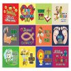 Jesus Loves Me Color Sheet Pretty Amazon Christian Stickers for Kids Boys Girls 10 Sheets