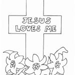 Jesus Loves Me Coloring Page Amazing Coloring Excelent Jesus Coloring Sheets