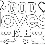 Jesus Loves Me Coloring Page Amazing God Loves Me Coloring Page is Love Pages Gods – Hashclub