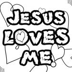 Jesus Loves Me Coloring Page Awesome Luxurius Jesus Loves Me Coloring Pages Printables 64 for Your with