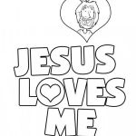 Jesus Loves Me Coloring Page Best Awesome Jesus is Love Coloring Pages – Fym