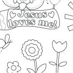 Jesus Loves Me Colouring Page Amazing Jesus Walking On Water Coloring Page – Palmarosa