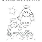 Jesus Loves Me Colouring Page Elegant Jesus Loves the Little Children Coloring Pages – Campradio