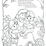 Jesus Loves Me Colouring Page Inspirational God Made Me Coloring Sheet New Jesus Loves the Little Children