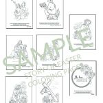 Jesus Loves the Children Coloring Pages Beautiful Christian Easter Coloring Pages Printables for Kids & Adults