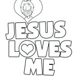 Jesus Loves the Children Coloring Pages Inspiration Jesus Loves Me Coloring Pages – Abbildungfo