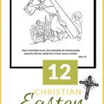 Jesus Loves the Little Children Activity Pretty Christian Easter Coloring Pages Printables for Kids & Adults