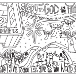 Jesus Loves the Little Children Coloring Pages Excellent 2016 Advent Coloring Pages 8 5x11 – Illustrated Children S Ministry