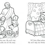 Jesus Loves the Little Children Coloring Pages Inspiration Child Praying Coloring Page Kid Pages Line Free Christmas