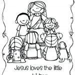 Jesus Loves the Little Children Coloring Sheet Brilliant Coloring Pages Of Jesus Loves Me – Dopravnisystemfo