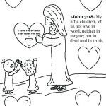 Jesus Loves the Little Children Coloring Sheet Inspirational Coloring Pages for Kindergarten Sunday School – Queenandfatchef