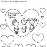 Jesus Loves the Little Children Coloring Sheet Pretty Jesus Loves Me Coloring Pages – Abbildungfo